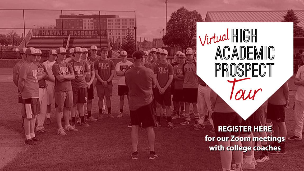 bradley baseball academia virtual high academic prospect tour